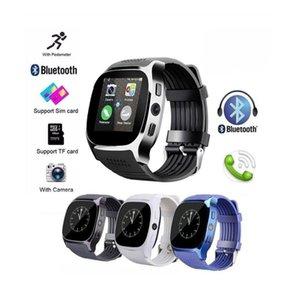 T8 GPS 스마트 시계 블루투스 Passometer 시계 스포츠 활동 추적기 스마트 손목 시계 카메라 시계 SIM 슬롯 팔찌에 대한 IOS 안드로이드