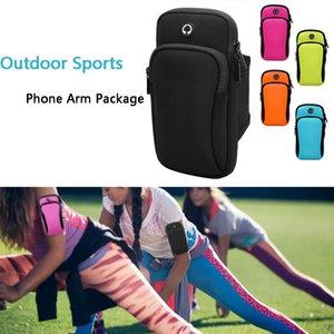 Courir poignet bande sac sport en plein air téléphone paquet de bras pour la randonnée Cell Strap poche