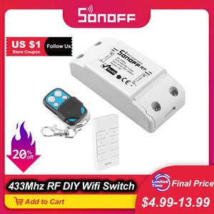 Moduli a buon mercato Home Automation Itead SONOFF RF R2 Wifi intelligente 433Mhz telecomando RF switch controller Mini Light fai da te Switch Module per