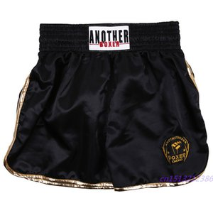 Мужские брюки Бокс Полиграфическая шорты кикбоксингу Fight единоборства Короткие Тайгер Муай тайский бокс шорты одежды Санда Boxeo
