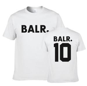 BALR Designer Mens magliette di estate O del collo manica corta Stampa Mens Tops Moda traspirante adolescenti Tees