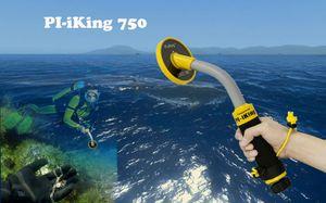 frete grátis 2018 novo Pinpoint Fábrica preço de atacado PI-IKing 750 Waterproof detector de metal detector de ouro de mão subaquática
