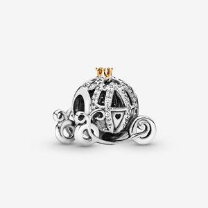 جديد وصول 100٪ 925 الاسترليني الفضة رائعة اليقطين مدرب سحر صالح الأصلي الأوروبي سحر سوار الأزياء والمجوهرات اكسسوارات