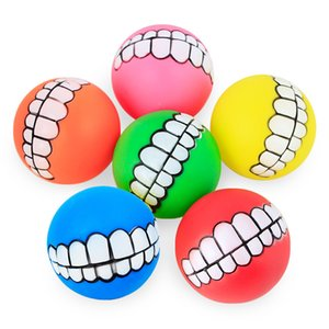 Pet Puppy Dog Funny Ball Teeth Silicon Chew Sound Dogs Play New Funny Pets Dog Puppy Ball Teeth Silicon Toy New Arrive