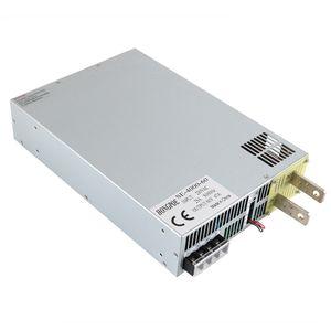 4000W 60V Power Supply 0-60V Adjustable Power 60VDC AC-DC 0-5V Analog Signal Control SE-4000-60 Power Transformer 60V 66A ON OFF