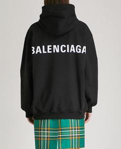 Модные мужские дизайнеры Толстовки весной и осенью Logo Box Кофта женщины пуловер ватка Лучшие мужчины футболка HipHop Спортивного толстовку