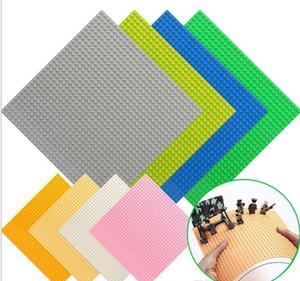 Placas Base clásico Kazi ladrillos de plástico Placas de base de bloque compatible Legoelys Dimensiones Bloques de construcción de juguete de construcción 32 * 32 puntos
