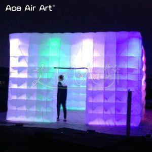 preço barato quadrados ao ar livre inflável partido tenda tenda grandes tendas cubo para eventos, tenda casamento barato inflável