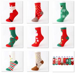 warm Coral velo de Natal Meias do Natal do inverno meias menina Personalidade dos desenhos animados Elk Sock Início Decorações de Natal DHL HH9-2525