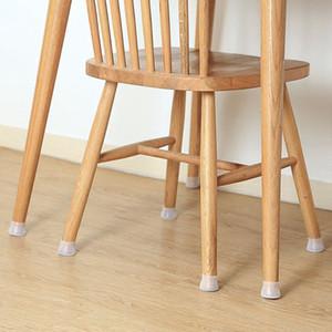 Mobili Silicon Protezione copertura della sedia Leg Caps Silicone Protector Piano Tavola rotonda Mobili Feet Copertura Anti-Slip Pad Chair inferiore