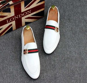 2020 Latest Men &#039 ;S Shoes Luxury Genuine Leather Casual Driving Flats Shoes Mens Loafers Moccasins Italian For Men Wedding Dress Shoes