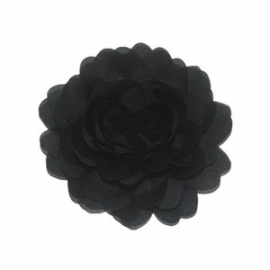 Hot Sale 40pcs lot 7CM Chiffon Flower Fabric Flowers For Headband DIY Hair Accessories LSFB037