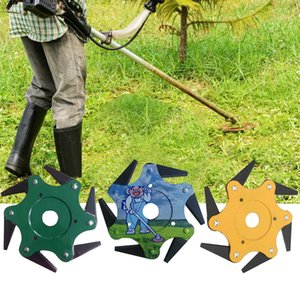 Best Selling 2019 Products Lawn Mower Grass Eater Trimmer Head-Brush Cutter Tool 6 Steel Razors Garden Other Garden Tools