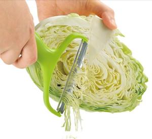 Vegetal ABS de acero inoxidable + Peeler col Graters ensalada de patata Máquina de cortar la fruta del cortador de cuchillos de cocina Accesorios de herramientas de cocina