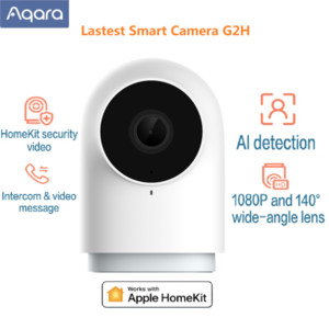 Aqara G2H الكاميرا الذكية 1080P HD Gateway Edition للرؤية الليلية Mobile for Apple Homekit App Zigbee Home Security 4 Color