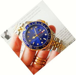 새로운 높은 품질 도매 Automtic 기계 럭셔리 남성 시계 모든 포인터 일 스테인레스 스틸 밴드 사업 relogio masculino 시계