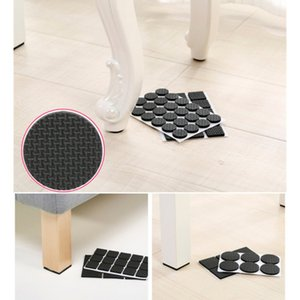 4 6 9 16pcs Chair Leg Pads Floor Protectors for Furniture Legs Table leg Covers Round Bottom Anti Slip Floor Pads Rubber Feet