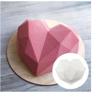 3D envío gratis Silicone Heart Sponge Diamond Hot 2019 Molde Chocolate Venta al poreros Moldes de venta Xnjkt