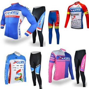Xidesheng Cycling Suit Suit Long -Sleeved Male Spring Summer Autumn Winter Riding Trousers Men And Women Bicycle Riding Equipment