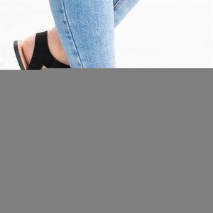 Hot Sale-xiniu 2019 New Verão da bracelete das senhoras Roma planas Peep Toe Sólidos Sandálias Sapatos casuais # 0521