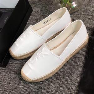 Chaussures nouvelles MONOGRAMME ESPADRILLES EN CUIR chaussures de marque de luxe des femmes chaussures pêcheur de les femmes des femmes casual mode casual