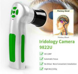نموذج جديد 12.0 MP digital iridology الكاميرا المهنية تشخيص العين نظام Iriscope الماسح الضوئي آيريس الشحن المجاني