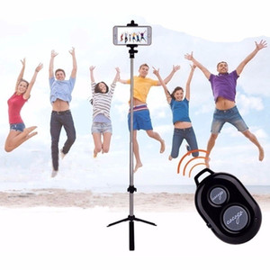 Extendable Bluetooth Selfie Stick Tripod with Wireless Remote and Monopod Stand for Samsung Huawei iPhone X