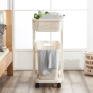 Vine hamper dirty clothes clothing storage basket plastic laundry basket dirty clothes household bathroom basket shelf