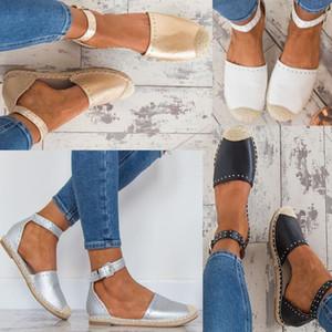 Unique2019 Code 35-43 Shoe New Level with Hemp Rope Rivet Woman Sandals