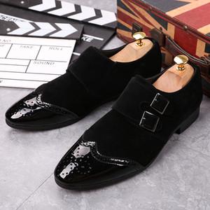 Amazing2019 Angleterre Automne Sharp Temps de loisirs Cuir Tapis Dos En Bas Homme Doug Chaussure Jeunesse Coiffure Division Aigle Chaussures