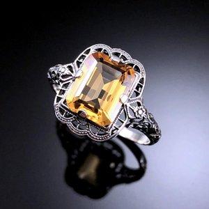 Regalo all'ingrosso della fabbrica il giorno di CHAMSS modello diamante dello zaffiro di Zircon di personalità semplice Femminile Madre