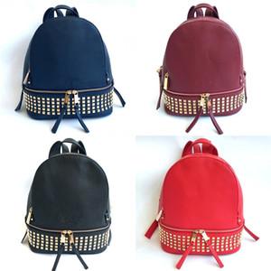 2020The neuer echtes Leder-Schulter getragen Frauen Eimer Taschen Frau Rucksack Fashion Mini Designer-Taschen-Querkorn Crescent Package # 853