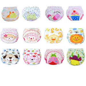 Mignon bébé réutilisable Diapers Couches culottes bébés enfants bébé coton à langer Pantalons Couches Lavables lavable formation