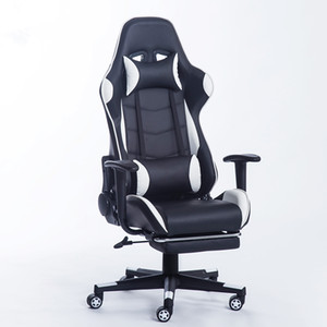 New Arrival Racing Synthetic Leather Gaming Chair Internet Cafes Computer chair confortável Lay Household office confortável