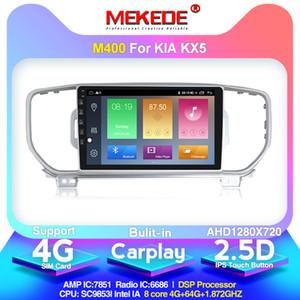 mekede 4G Андроид 10.0 для Kia KX5 Спортейдж 2016 2017 автомагнитолы автомагнитолы 2DIN стерео GPS-навигация головное устройство мультимедийный плеер беспроводной автомобильный DVD