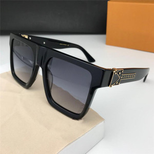 Yeni moda tasarımcısı güneş gözlüğü 1100 kare plaka çerçevesi açık koruma basit ve cömert tarzı en kaliteli popüler gözlük