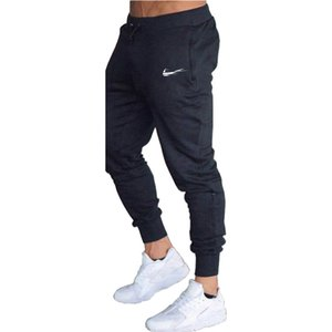 Pantalons Pocket Cargo Sports de plein air simple d'homme pour les garçons Automne Fitness jogging Drawstring Pantalons Sweatpants