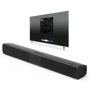 Novo BS-28B TV Bluetooth Speaker 20 W Soundbar Home Theater Subwoofer Sem Fio Surround 3D Estéreo Baixo Alto-falantes Portáteis Para O Telefone