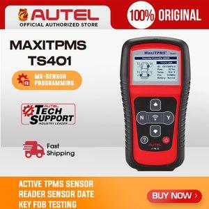 Давление Autel MaxiTPMS TS401 OBD2 TPMS диагностический сканер инструмент Tire Monitoring System Programming Activate 315 433MHZ Sensor