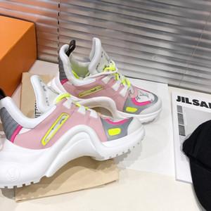 louis vuitton Lv Marke heiße Art Business-Schuhe High-End-Design hochwertiges Leder beiläufige Art und Weise Damen beiläufige Sportschuhe Größe 35-40