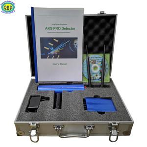 품질 상품 전문 AKS Pro 2 안테나 장거리 지하 금속 골드 실버 구리 다이아몬드 탐지기 유럽 남아메리카