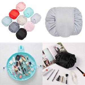 Il sacchetto cosmetico pigro del sacchetto cosmetico di viaggio di grande capacità del sacchetto portatile di trucco riempie il sacchetto 11 colori