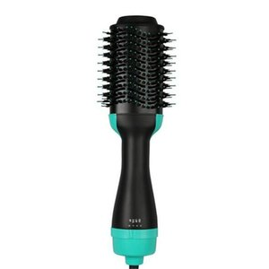 Hot Air Brush, One Step 2-in-1 Hair Dryer & Styler & Volumizer Multi-functional Straightening & Curly Hair Brush with Negative Ions