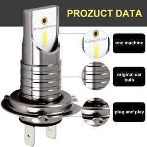 H7 LED Омыватель фар Ксеноновые лампы Группа фары высокой мощности 12V 55W 6000K светодиодные лампы фар автомобиля Комплект для общего назначения