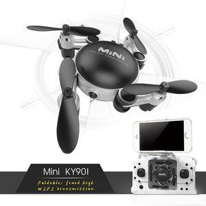 Neue Berufs RC Hubschrauber KY901 WiFi FPV RC Quadcopter Mini Drone faltbare Selfie Drone Mit HD Wifi Kamera RC Spielzeug