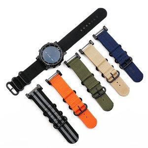 Banda de relógio Acessórios Men para a cadeia SUUNTO Core Series faixa de relógio de nylon cinto Outdoor Sports