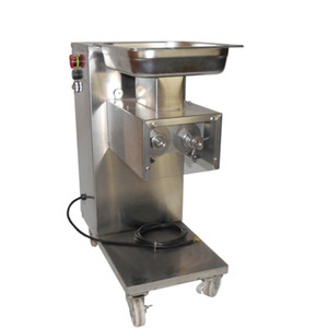 Free shipping 110V 60HZ QE Fresh Butcher Commercial Electric meat cutter, meat slicer, meat cutting machine