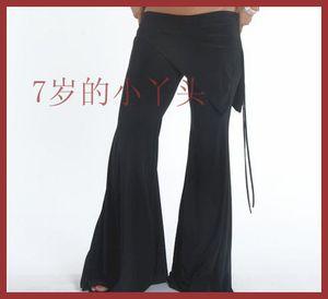 tribal fusion Belly dance pants Lycra cotton tribal Belly dance flare Pants with skirt AC01-11