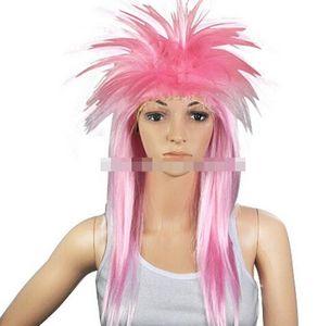 FREE SHIPPIN + Ladies Punk Rocker Chick Tina Turner Wig