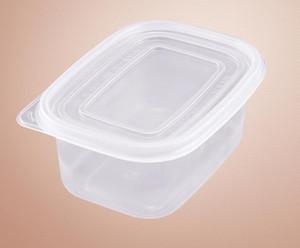 709ml di plastica a gettare torta contenitore 2 tipi di colore del coperchio del modello di strato del cioccolato Pane Box all'ingrosso SN4371